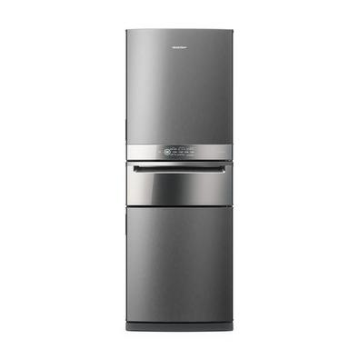 Refrigerador Brastemp Inverse 419L 3 Portas Frost Free Inox 220V BRY59BKA Brastemp sempre trazendo o que há de melhor, traz para sua casa o Refrigerad