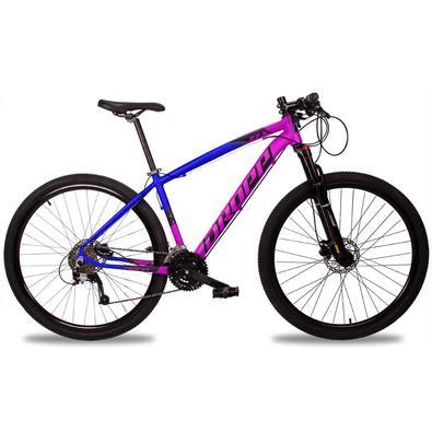 Uma mountain bike esportiva perfeita para se iniciar no mundo do MTB em trilhas e estradões. Sua geometria esportiva oferece um comportamento excepcio