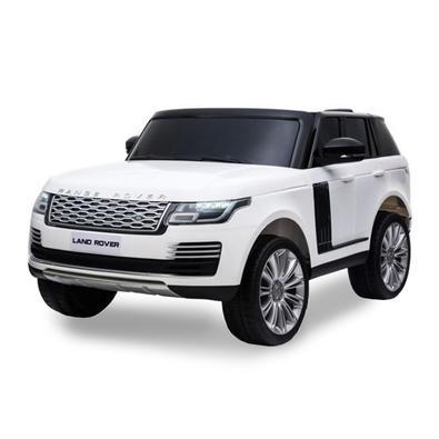 Carro Elétrico 24v Land Rover Branco - Importway Com Controle Remoto, Luz, Som, Usb, Mp3. Acompanha controle remoto, bateria 24V e carregador Bivolt.