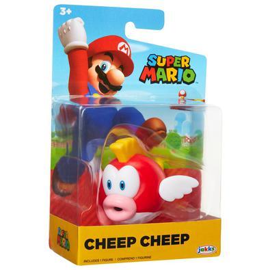 """A turma do Mario veio para o """"mundo real"""" para encantar toda a família! Cada onda vem com 5 personagens diferentes, como: Orange Yoshi, Jumping Mario,"""