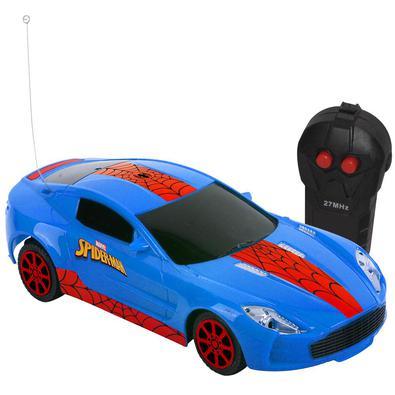 Veiculo Web Storm 3 Func - Spider Man - Pilhas - Listrado