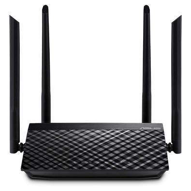 Roteador Wi-Fi de dual-band AC1200 com quatro antenas e Controle Parental. Taxa de transferência simultânea de 300 Mbps (2.4GHz) e 867 Mbps (5GHz) par