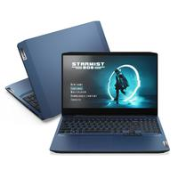 "Noteboook Gamer Lenovo, Ideapad Gaming 3i, Intel Core I5-10300h, 8gb, 256gb Ssd, Geforce Gtx 1650 4gb, 15,6"" full Hd, Linux, Azul"