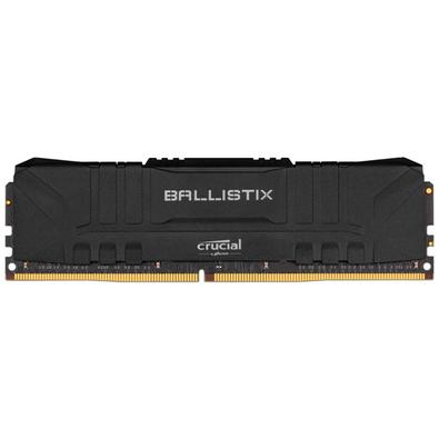 Memória 8GB DDR4, 3000 MHz, Crucial Ballistix, CL15 - BL8G30C15U4B