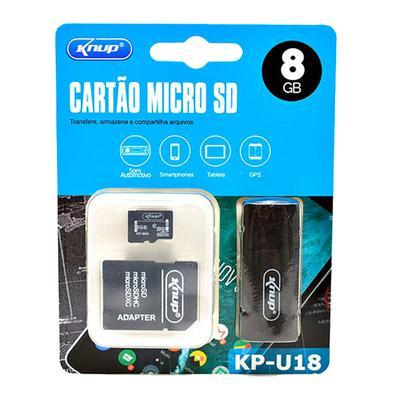 Transfere, armazena e compartilha arquivosMaximize o desempenho de sua câmera de segurança, tablet, celular com o cartão de memória KNUP Ultra microSD