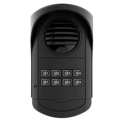 Ao atender o interfone, a comunicação é imediatamente estabelecida. Se existir uma fechadura elétrica instalada no Painel Coletivo, para acionar a fec
