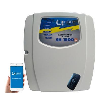 O eletrificador de cerca Lider modelo SH1800 com WIFI permite a proteção perimetral de residências, condomínios e sítios contra a invasão de intrusos.
