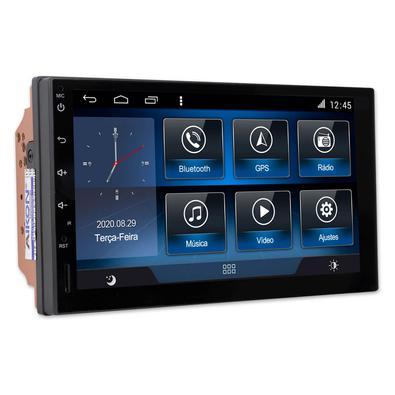 Funções:- GPS: Sistema de navegação via satélite com controle touch screen.- Bluetooth Hands-Free/Música A2DP: Permite realizar e receber ligações. Po