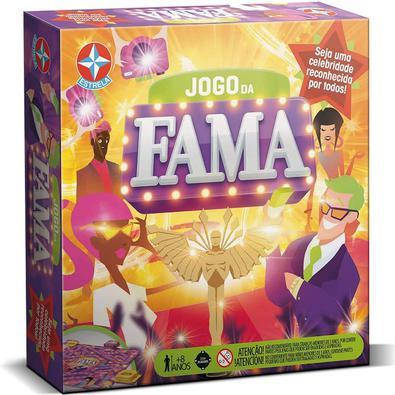 Com o Jogo da Fama, as crianças vão se divertir muito! As crianças vão testar o conhecimento e popularidade, para competir e dar muita risada com quem