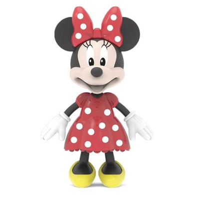 Boneco Flexível Minnie com acessórios para brincar, super lançamento da Elka Brinquedos! Com aproximadamente 11 centímetros de altura. Estimula a inte