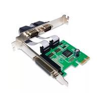Placa PCI Express, Com 2 Portas Serial E 1 Paralela, Knup - KP-T105