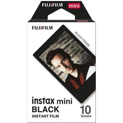 Filme instantâneo Fujifilm Instax Black com 10 poses