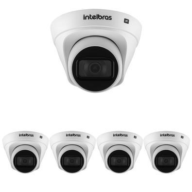 Kit contendo 5Câmeras IP VIP 1130 DÍndice de proteção IP67O índice de proteção IP67 garante maior resistência contra os desgastes do tempo. Indicada