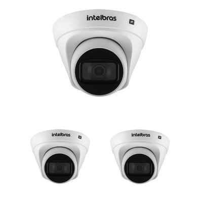 Kit contendo 3Câmeras IP VIP 1130 DÍndice de proteção IP67O índice de proteção IP67 garante maior resistência contra os desgastes do tempo. Indicada
