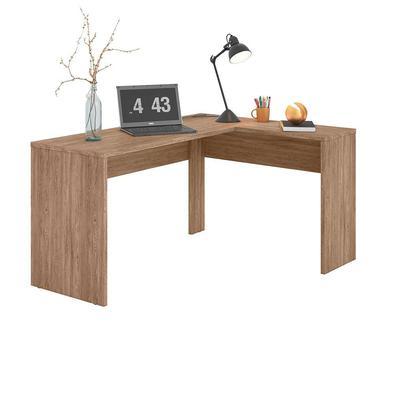 Versatilidade e organização são pontos fortes da escrivaninha Office da Demóbile, além de ser utilizada no escritório, pode ser usada em casa.  A Escr