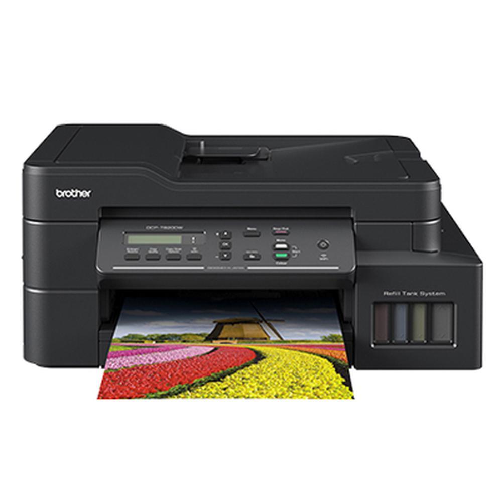 Imagem de Impressora Multifuncional Brother Jato de Tinta DCP-T820DW