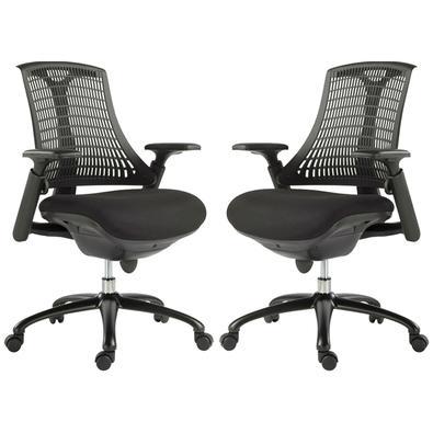 Descrição do Produto: Kit 2 Cadeiras para Escritório Nagoh Office Giratória Preto Gran Belo está perfeita, é a escolha ideal para o consumidor que tem