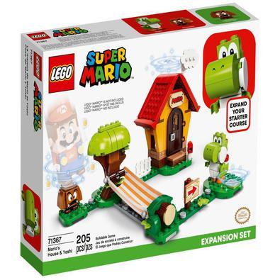 Os fãs podem melhorar o seu jogo LEGO® Super MarioTM e desfrutar de muita diversão criativa com este Pacote de expansão Casa de Mario e Yoshi (71367).