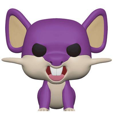 Seu sonho de se tornar um treinador não está fora de alcance! Pegue esse pop! de Rattata para adicionar à sua coleção de Pokémon . Figura colecionável