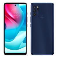 """Smartphone Motorola Moto G60s Azul, Tela 6.8"""", 4g+wi-fi+nfc, And. 11, Câm. Tras. De 64+8+5+2mp, Frontal De 16mp, 6gb Ram, 128gb"""