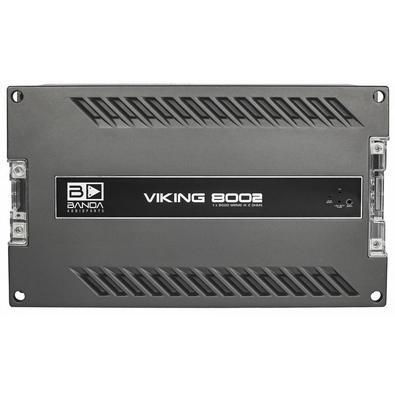 O Módulo Amplificador Banda Viking 8000w rms 1 canal 2ohms possui montagem com uma carcaça de alumínio super resistência e com ótima eficiência em dis
