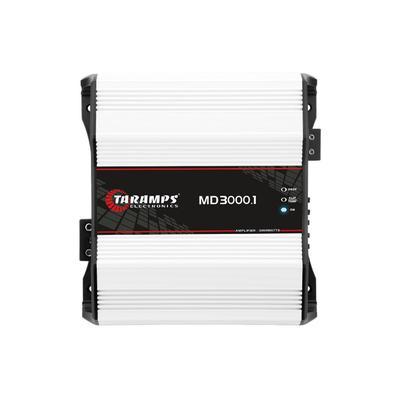 A Taramps apresenta o módulo amplificador MD 3000.1 na versão de 1 ohm. Foi cuidadosamente desenvolvido com a mais alta tecnologia, oferecendo alto re
