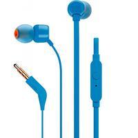 Fone de Ouvido JBL Tune 110 Azul   Grave que balança, e pronto para rolar. Apresentamos os fones de ouvido intra-auriculares JBL TUNE110. Eles são lev