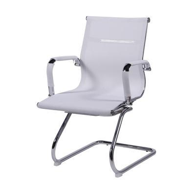 DESCRIÇÃO TÉCNICA Material: Tela Mesh, Metal e Nylon. Acabamento: Tela Mesh Base e braços: Cromado Altura do braço até o chão: 68cm Altura do assento