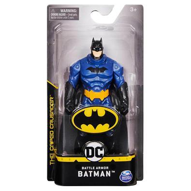 """Produto: BATMAN FIGURA 6´´ Dados do produto: Figura de 6"""" Batman com 3 pontos de articulação. Batman, Robin e Coringa.Conteúdo da Embalagem: 1 Figura"""