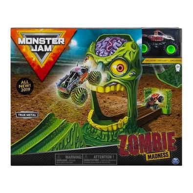 Playset Monster Jam faça várias manobras com o veículo exclusivo  utilizando as rampas freestyle inclusas no playset. A emoção de Monster jam agora na