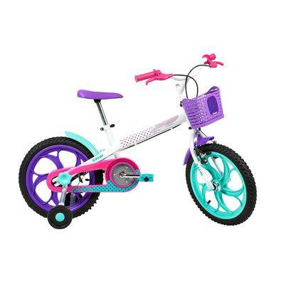 Para as meninas cheias de personalidade que estão aprendendo a pedalar e querem deixar a sua marca por ondem passam. A Ceci 16 2020 é uma bike cheia d