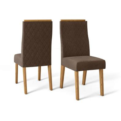 Uma ótima opção para sua casa, a Cadeira New Maia é o que você precisa para decorar a sua sala de jantar. Possui um design moderno e sofisticado, send