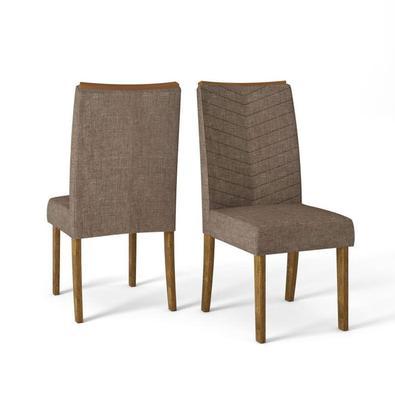 A cadeira Serena é uma opção elegante e muito confortável para sua sala de jantar. Se quer aproveitar as refeições com a família com muito conforto e