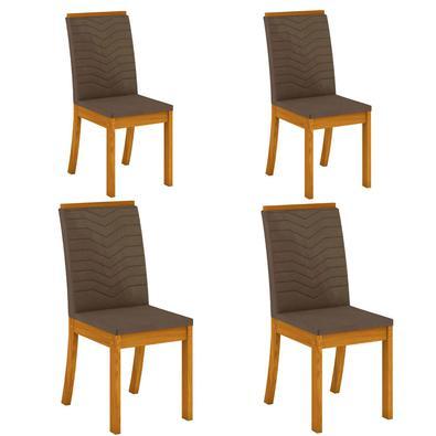 Para deixar sua sala de jantar ainda mais completa chegou a cadeira Isa, trazendo charme, elegância e conforto para seus jantares com seus familiares