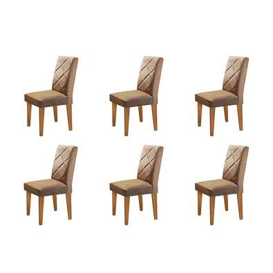 Complete sua sala de jantar com esse lindo Conjunto com 06 Cadeiras Olímpia . Conforto, elegância, deixara seu ambiente completo.