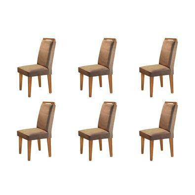 Complete sua sala de jantar com esse lindo Conjunto com 06 Cadeiras Athenas . Conforto, elegância, deixara seu ambiente completo.