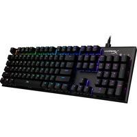 O HyperX Alloy FPS RGB? é um teclado de alta performance projetado para garantir a máxima precisão e o melhor estilo. Os LEDs expostos nos switches da