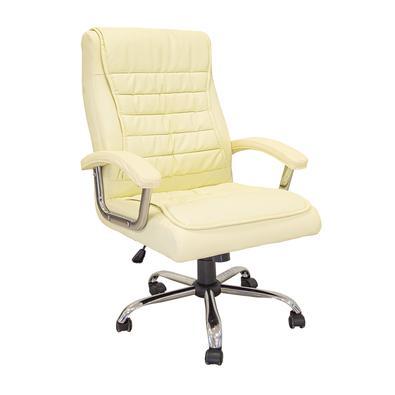 Precisando de uma cadeira confortável para o trabalho? Temos a cadeira perfeita para você! Possui o assento e o encosto com molas ensacadas encaixando