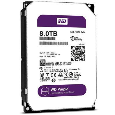 Com suporte a uma carga de trabalho nominal de até 180 TB/ano e suporte para até 64 câmeras, as unidades WD Purple são otimizadas para sistemas de vig