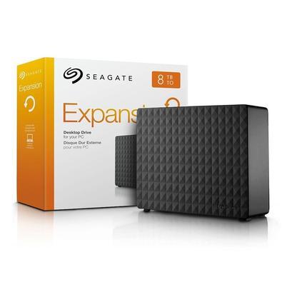 HD Seagate Externo 8TB USB 3.0 STEB8000100O disco rígido externo Seagate Expansion da Seagate é uma solução fácil de usar quando você precisa adiciona