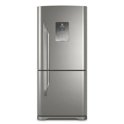 Geladeira/Refrigerador Frost Free Bottom Freezer 598 Litros Electrolux DB84X Inox Quando os gostos da família são diferentes, só uma geladeira bem esp
