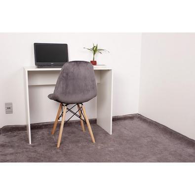 Kit Escrivaninha 90cm + 01 Cadeira Botonê Veludo O Kit Escrivaninha 90cm + 01 Cadeira Botonê Veludo é um importante item para a sua decoração. Indepen