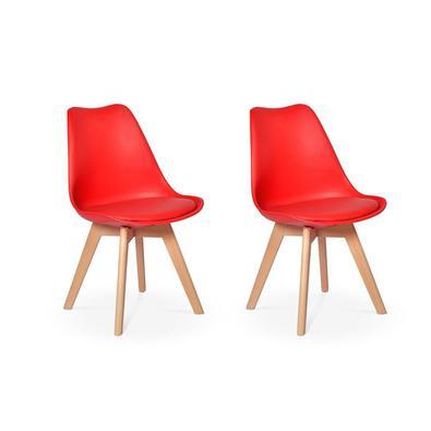 Cadeira Eames Wood Leda Design Esta cadeira vai dar um up na decoração do seu lar! Feitas em material de excelente qualidade, as cadeiras Eames Wood L