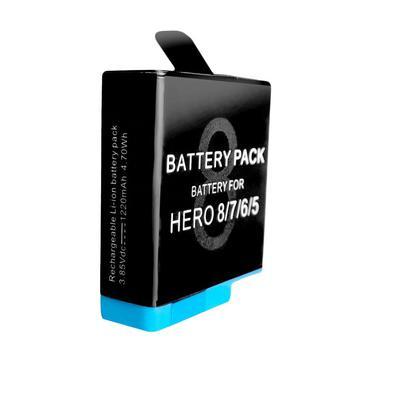 Quem possui uma câmera GoPro Hero 8 Black, Hero 7 Black, Hero 6 Black, Hero 5 Black ou Hero (2018) sabe muito bem que ter uma ou mais baterias extras