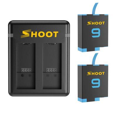 Se você quer oferecer uma carga extra para sua GoPro Hero 9 Black, então precisa conhecer este incrível kit da marca Shoot. Ele é composto por um carr