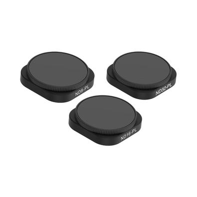 Proporcione uma grande melhora na qualidade das imagens feitas com sua GoPro Hero 9 Black utilizando este kit de filtros da Telesin. Os filtros neutro