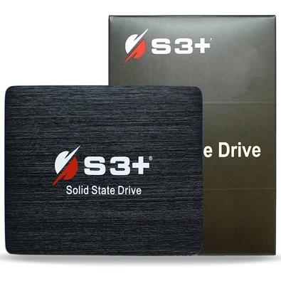 MarcaS3+ModeloS3SSDC120Capacidade120GBInterfaceSata III 6 Gb/sVelocidade de leitura de dados562 MB/sVelocidade de gravação de dados392 MB/sFator