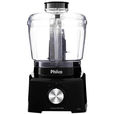 Processador de Alimentos Philco PH900 1 Vel + Pulsar 250W Preto - 220V Com o Processador de Alimentos Philco PH900 essa tarefa fica muito mais prática