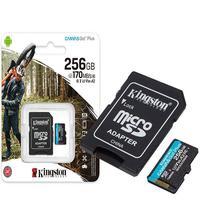 Com desempenho de velocidade V30 e U3, os cartões microSD Canvas Go! Plus são indicados para vídeos Ultra HD 4K ou então para fotografias de ação rápi