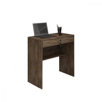 Escrivaninha 1 Gaveta com Fechadura e com Chave Andorinha Candian JCM Móveis  A Escrivaninha Andorinha é ideal para você que possui pouco espaço em su